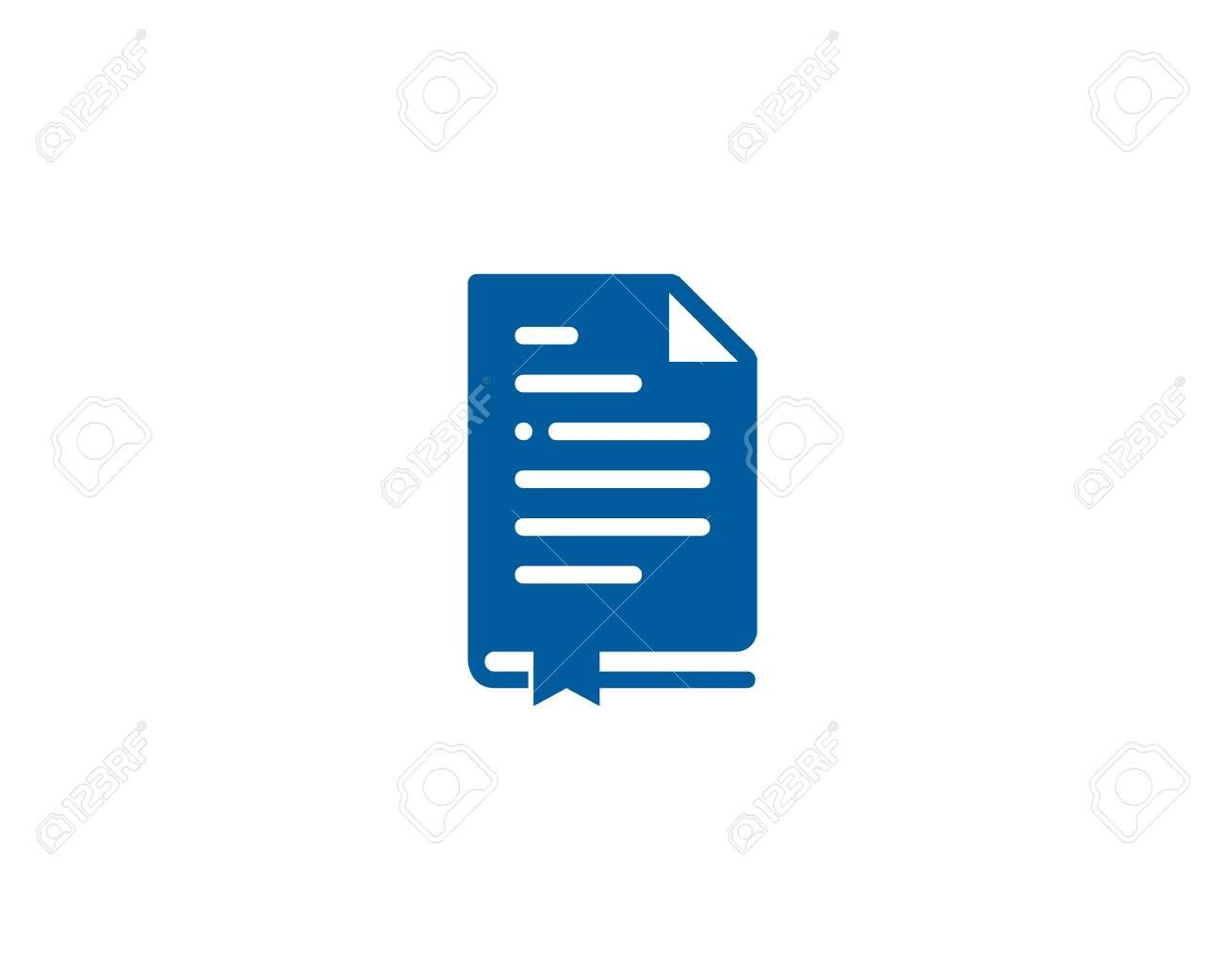 Paperwork Book Logo Icon Design Affiliate Book Paperwork Logo Design Icon