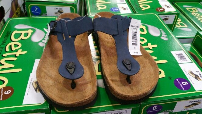 Found at #Costco today. #sandals