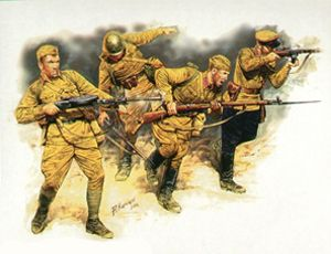 Wargaming with Barks: FoW Soviet infantry army