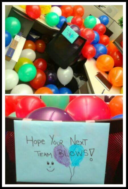 Pull a Prank at work -Did it to my old boss on his last day