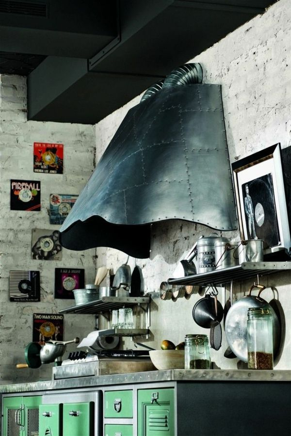 Cuisine Vintage  Un Design Intemporel Et Fonctionnel  Cuisine