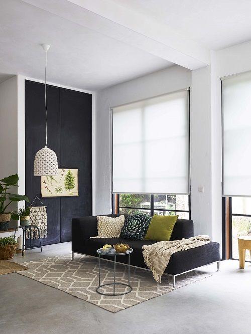 bohemian chic #interieur #stijlvol #woonkamer #raamdecoratie ...
