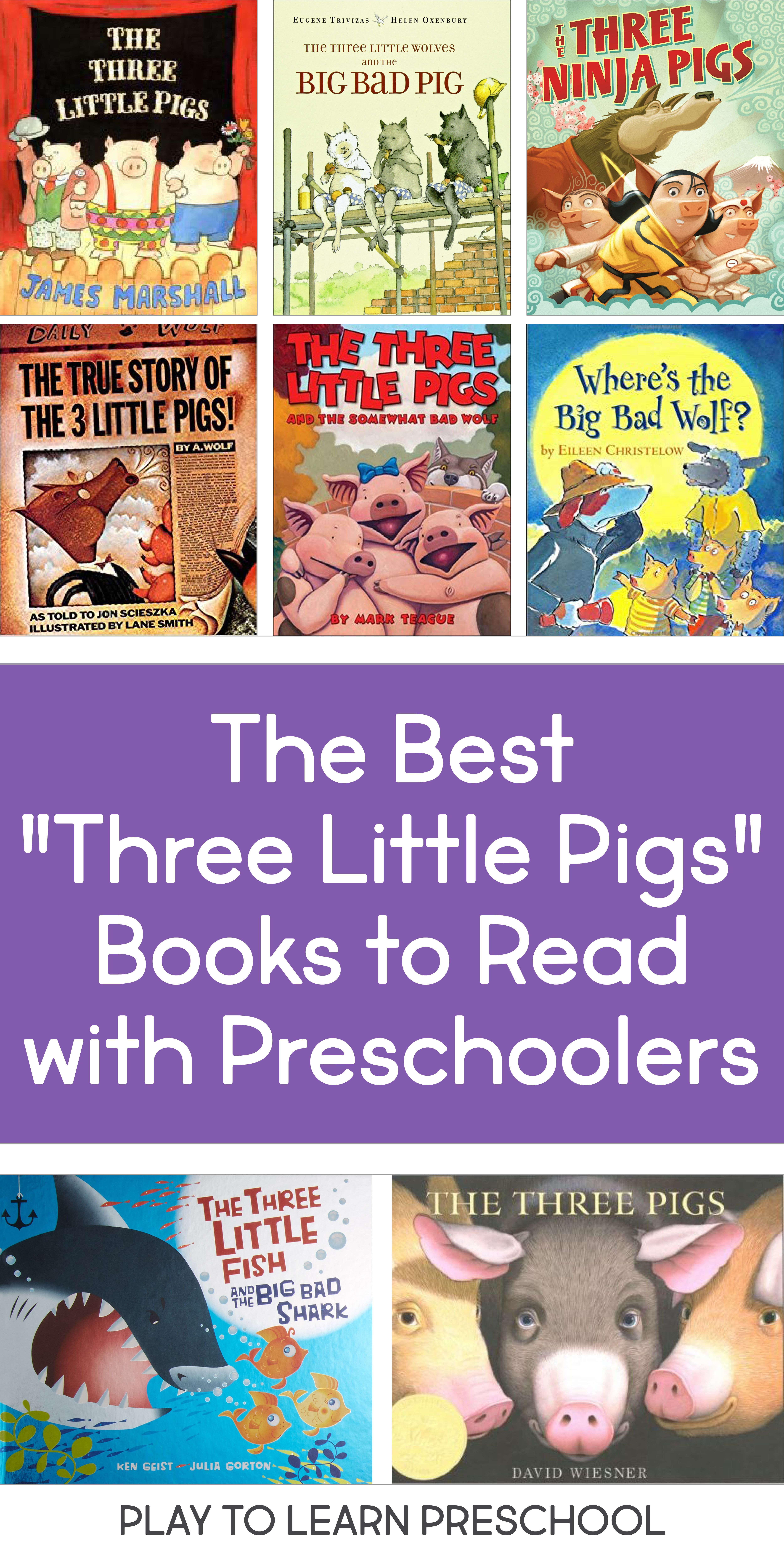 Preschoolers Love These Different Versions Of The Three