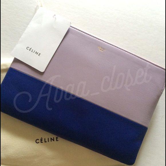 58331806e45e Spotted while shopping on Poshmark  Celine Clutch Solo bi color in Orchid!   poshmark  fashion  shopping  style  Celine  Handbags