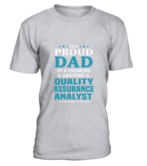 # Quality Assurance Analyst T-Shirt .  Quality Assurance Analyst T-Shirt  HOW TO ORDER: 1. Select the style and color you want: 2. Click Reserve it now 3. Select size and quantity 4. Enter shipping and billing information 5. Done! Simple as that! TIPS: Buy 2 or more to save shipping cost!  This is printable if you purchase only one piece. so dont worry, you will get yours.  Guaranteed safe and secure checkout via: Paypal | VISA | MASTERCARD