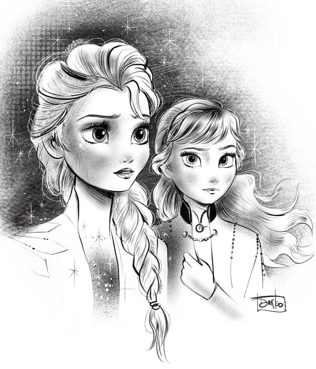 Drawing Frozen Elsa Snow Queen Drawholic Frozen Drawings How To Draw Elsa Drawings