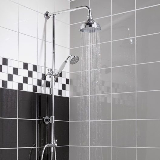 colonne de douche sensea retro badkamer pinterest. Black Bedroom Furniture Sets. Home Design Ideas