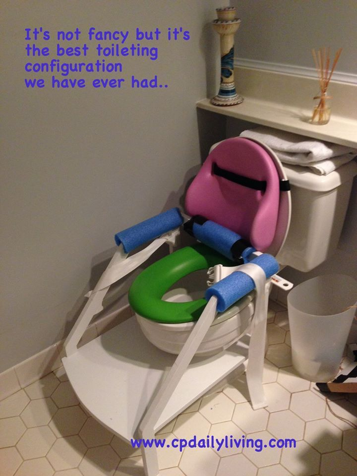 Diy Adaptive Toilet Mom At Amp Adaptations Pinterest