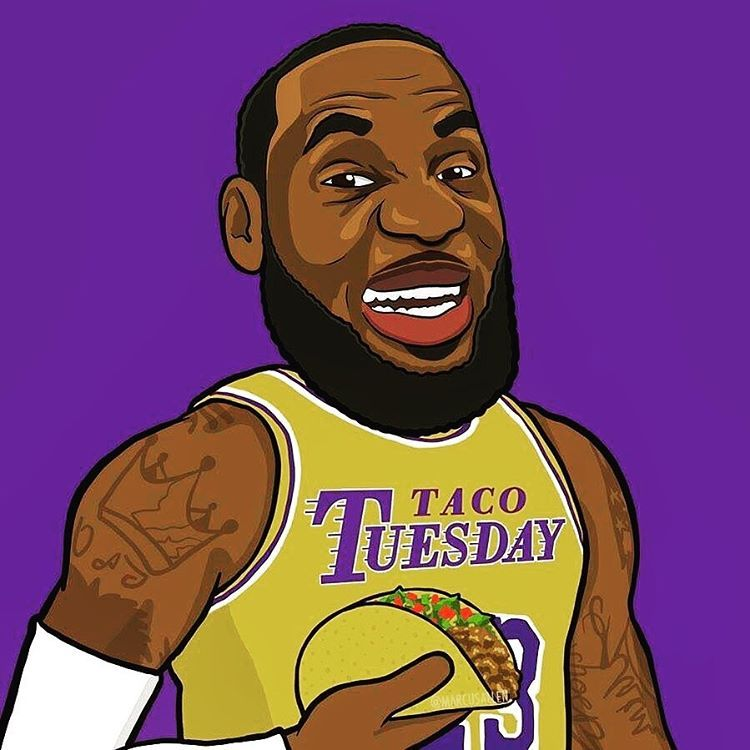 Instagram 上的 Lebron James How Many Points Per Game Will Lebron Average On Tuesday S This Season Lebron James Lebron James Lakers Lebron James Art