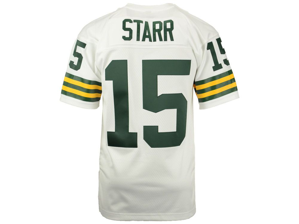 5f827edeb Green Bay Packers Bart Starr Mitchell   Ness NFL Replica Throwback Jersey