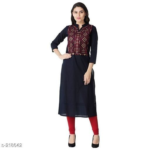 Price: 699 COD is available Returns Accepted  Best Quality Guaranteed  Whatsapp Us To Order 8700989598 . ℹPRODUCT DETAILS:- Designer Stylish Women's Kurti Fabric: Cotton  Sleeves: Sleeves are included  Size: S-36 in M-38 in L-40 in XL-42 in XXL- 44 in  Length: Up to 44 in  Type: Stitched  Description: It has 1 piece of Kurti  Work: Embroidered . . . . . . . . . . #kurti #kurtis #trendykurti #fashion #trendsgully #buykurtionline #kurtilover #onlineshopping #kurtioninsta #kurtidesign2018 #kurties #kurtidress #indianwear #kurtiforparty #hiphop #kurticantik #shopping #buykurti #kurtiindia #shopoholic #kurties #buykurtis #ethnic