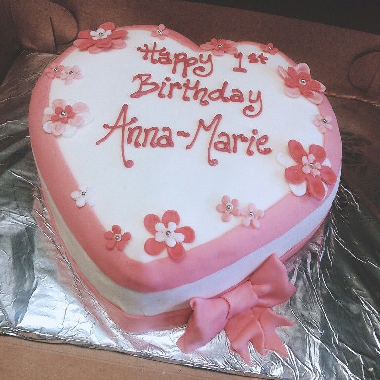 Heart Shaped Birthday Cake Shaped Cakes In 2018 Pinterest