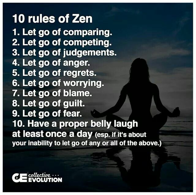 Zen Quotes On Life Prepossessing 10 Zen Rules  Life's Rules To Live Pinterest  Life S