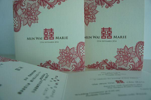 Rustic pink oriental wedding invitation Oriental Theme Pinterest