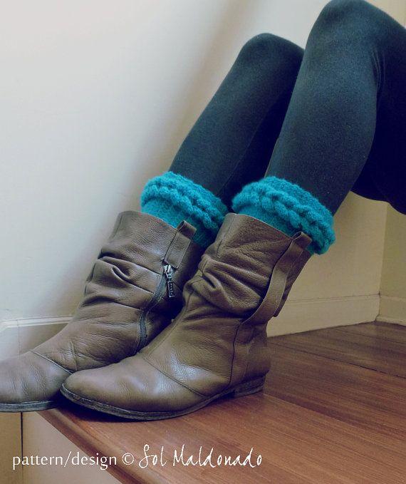 Boot Cuff Crochet Pattern PDF Braided boot topper | Crochet me Now ...