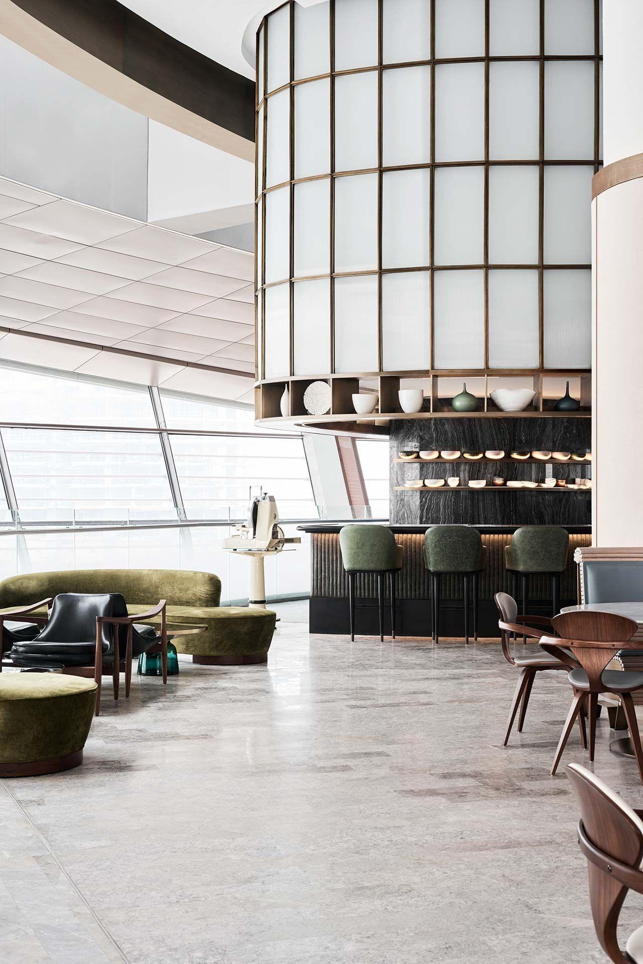 Sean connolly at dubai opera hotel restaurant design for Raumgestaltung cafe