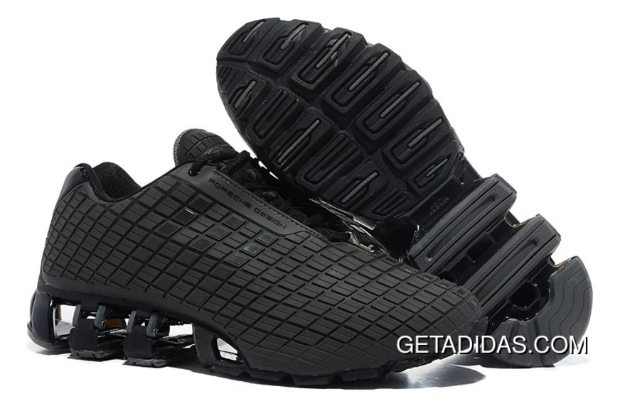 huge discount b3709 e93b9 Sale Cheap Adidas Porsche Design All Black Running Shoes