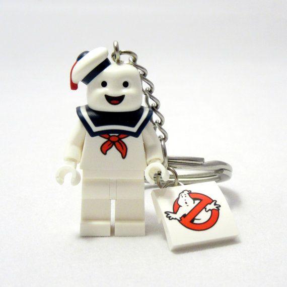 Stay Puft® Inspired Keychains *LAST ONE! SALE* Ghostbusters® Fan Art ...