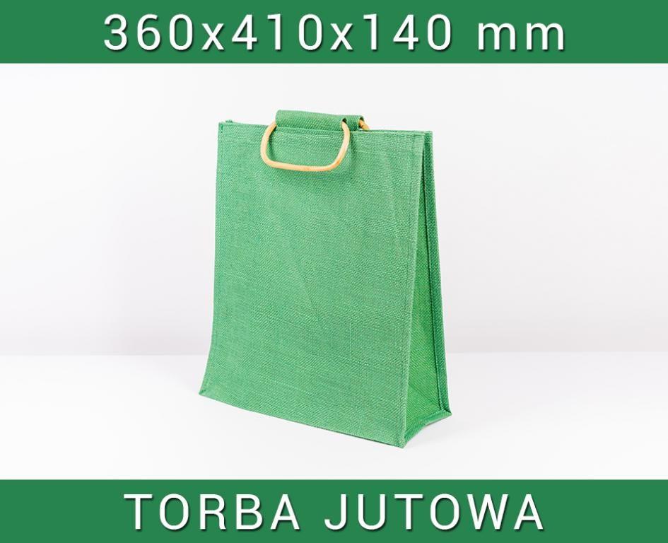 39f13dff92d19 Torba eko TOREBKA Z JUTY zielona IDEALNA NA ZAKUPY | Torby z juty ...