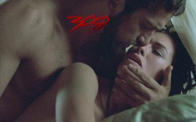 """Gerard Butler as King Leonidas & Lena Headey as Queen Gorgo in """"300"""" <3"""
