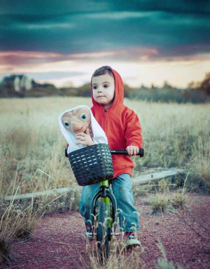 Diy disfraz de E.T. Genial perfecto muy sencillo para niños