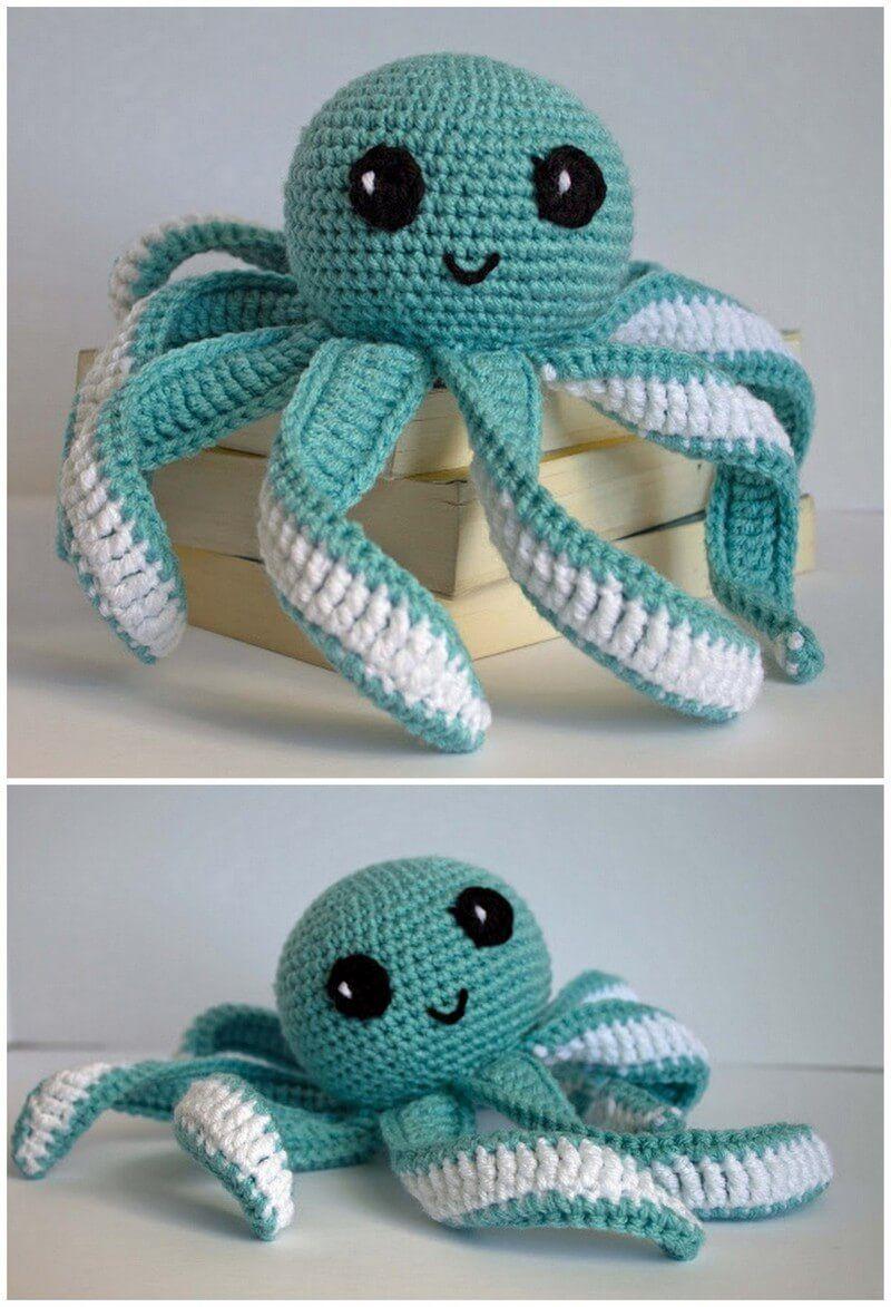 Easy to Make Crochet Amigurumi Free Patterns   Octopus