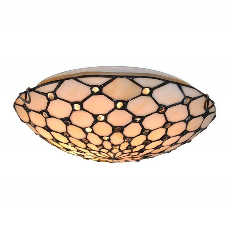 Tiffany Style Ceiling Fixture Lamp