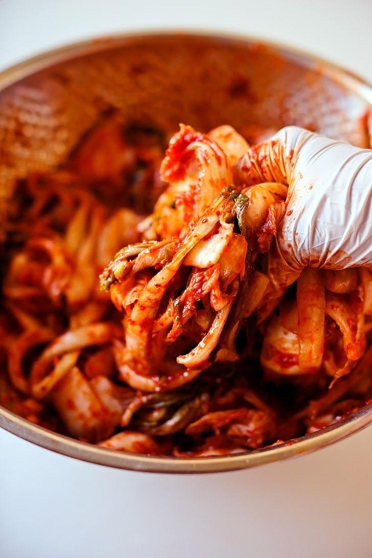 Mom\'s Kimchi Recipe | Almuerzos, Comida y Cocinas
