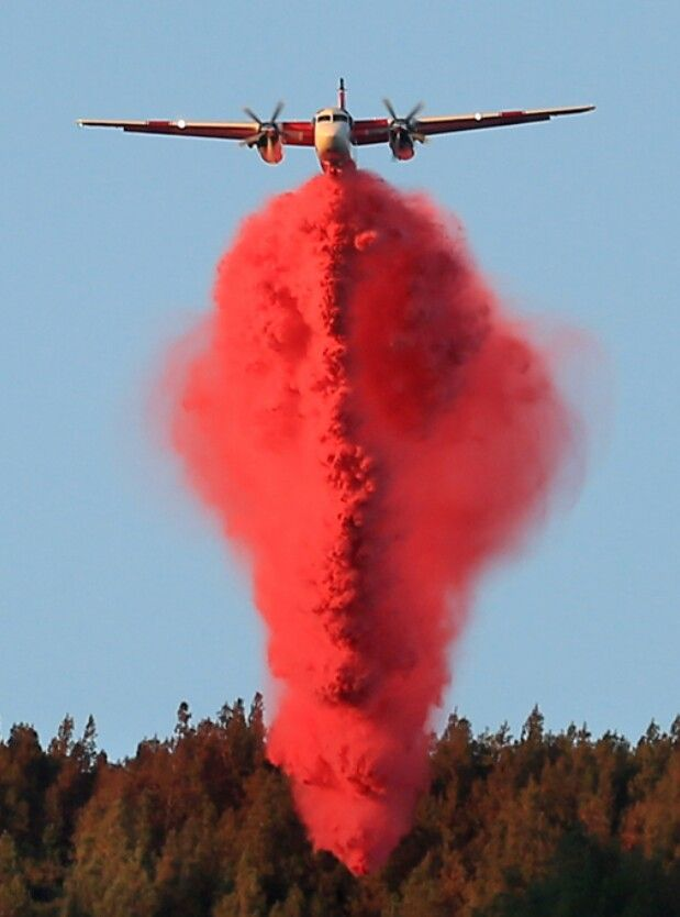 Fire Fighter Plane Planes Wildland Firefighter Fire