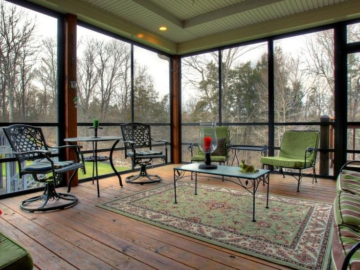 Love This DIY Screened In Porch Using A Canopy Screen Tent. Description  From Pinterest.