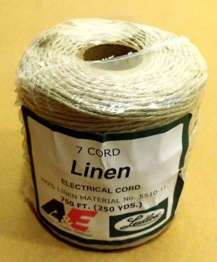 Lox-rite type COTTON lacing #9 splicing cord rug braiding