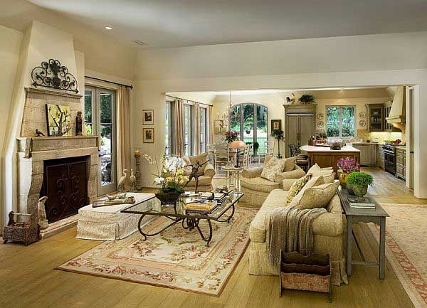 mediterranean decor | classic mediterranean living room design