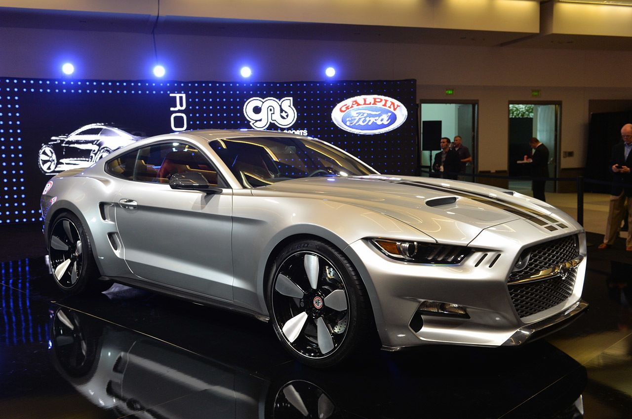 Galpin Auto Sports and Fisker turn the Mustang into a
