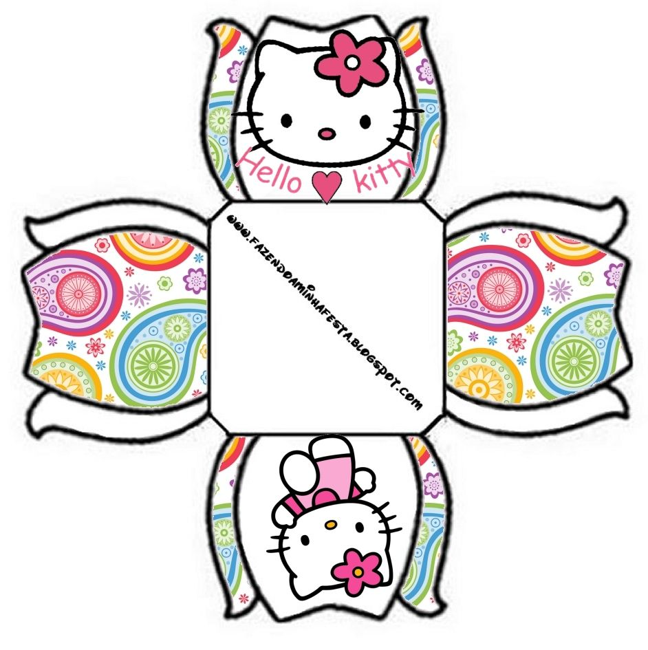 Maries Manor Hello Kitty: Pin By Mandarine Lemon On Party Boxes