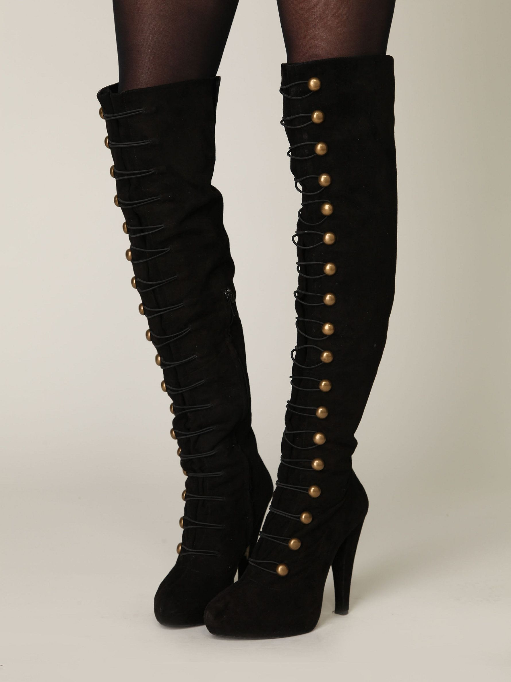 I'm like a ring leader, I call the shots. Jeffrey Campbell Battalion Boot