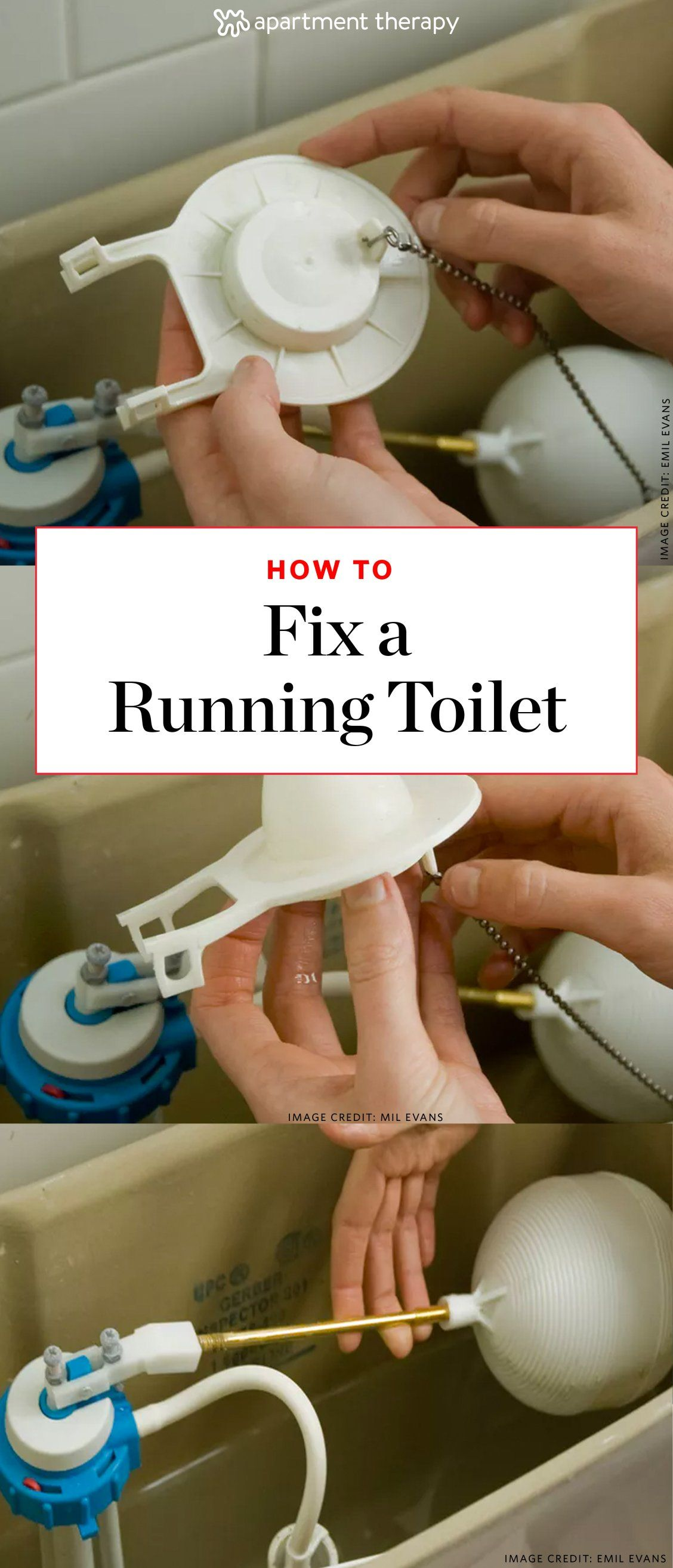 How To Fix A Running Toilet Common Causes Easy Diy Fixes Easy