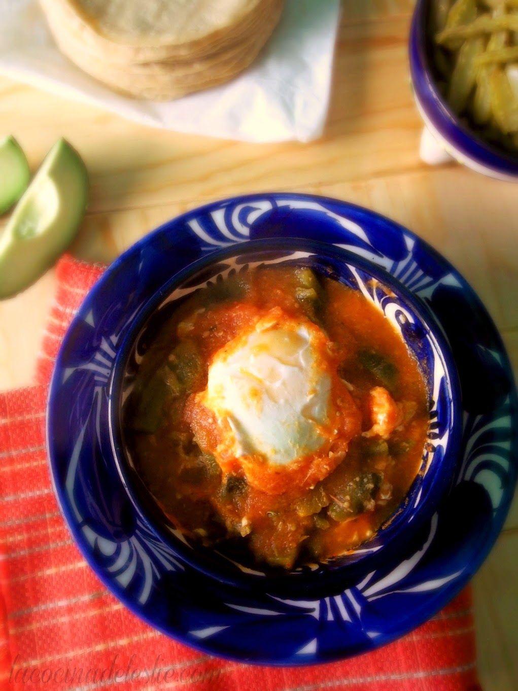Huevos ahogados recetas a la mexicana pinterest - Cuisine mexicaine traditionnelle ...