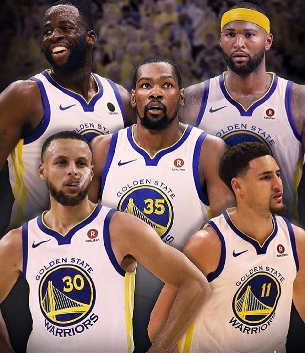 2018-19 Warriors! Let the season begin.  ef06c4a0c