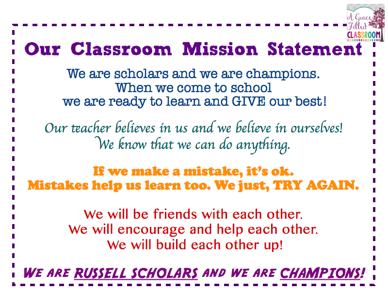 3 example of personal mission