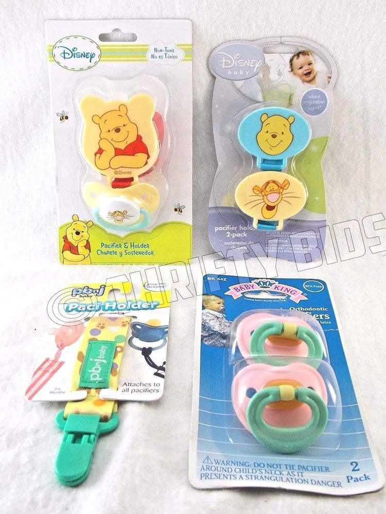 Disney Winnie The Pooh Tigger Pacifier Holder Pbnj Paci Holder