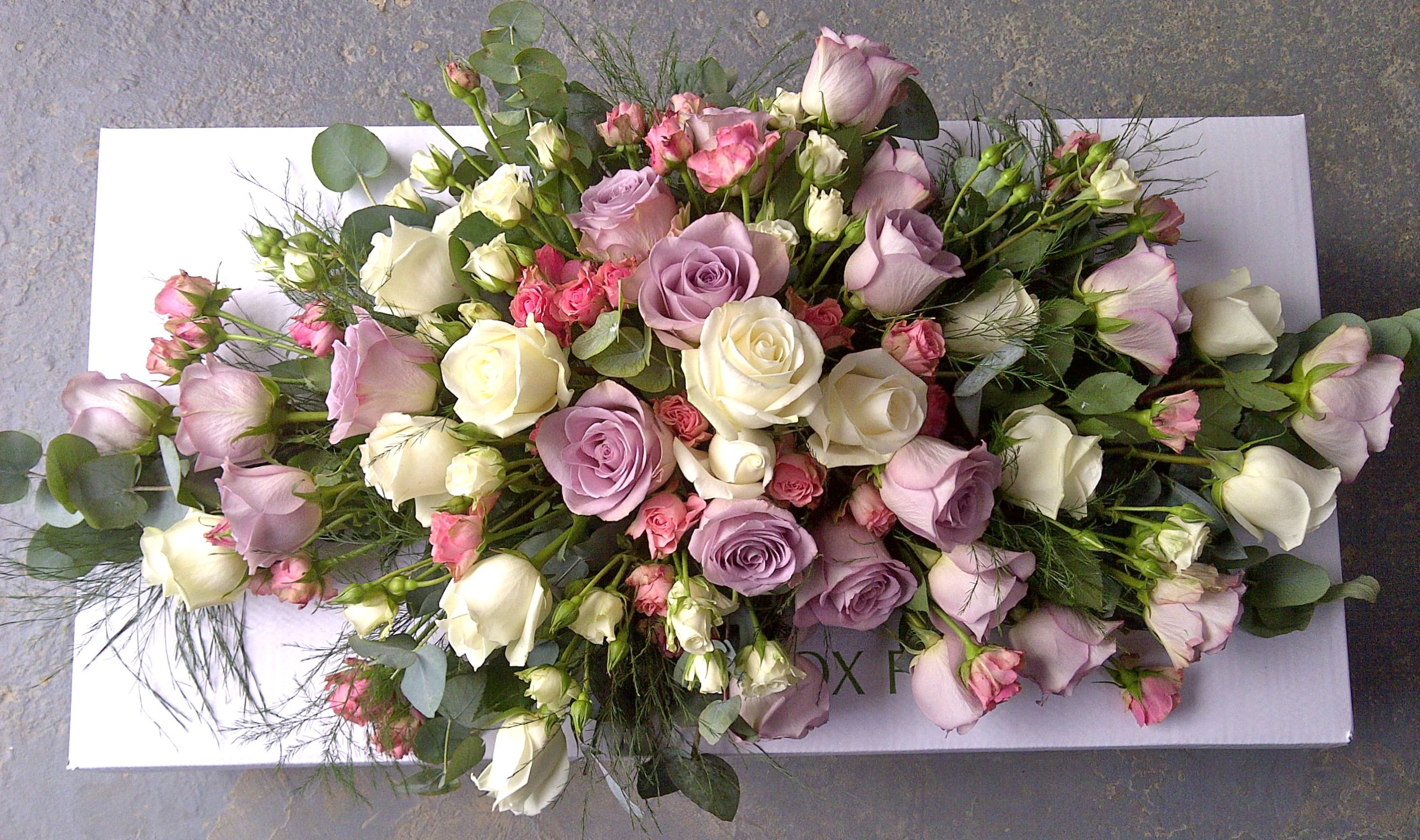 This lovely funeral display for only 6000 farewell floral funeral flowers izmirmasajfo Image collections