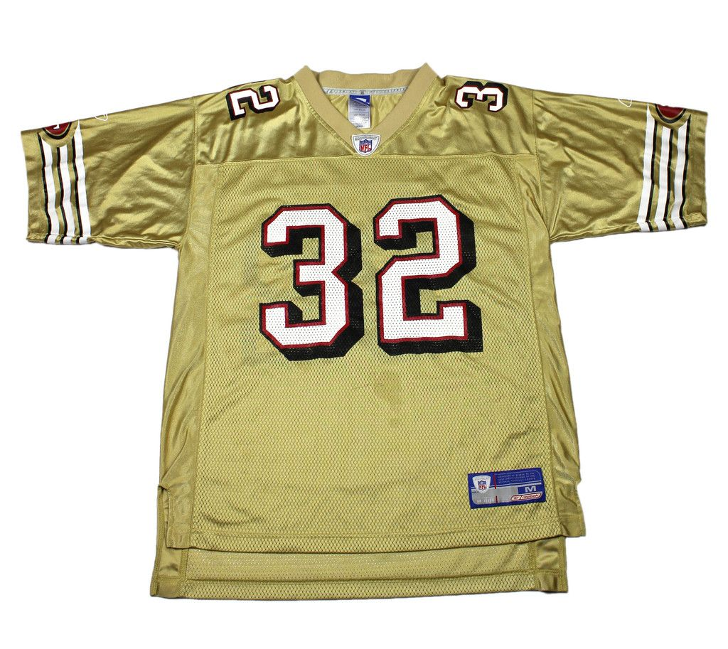 san francisco 49ers gold jersey