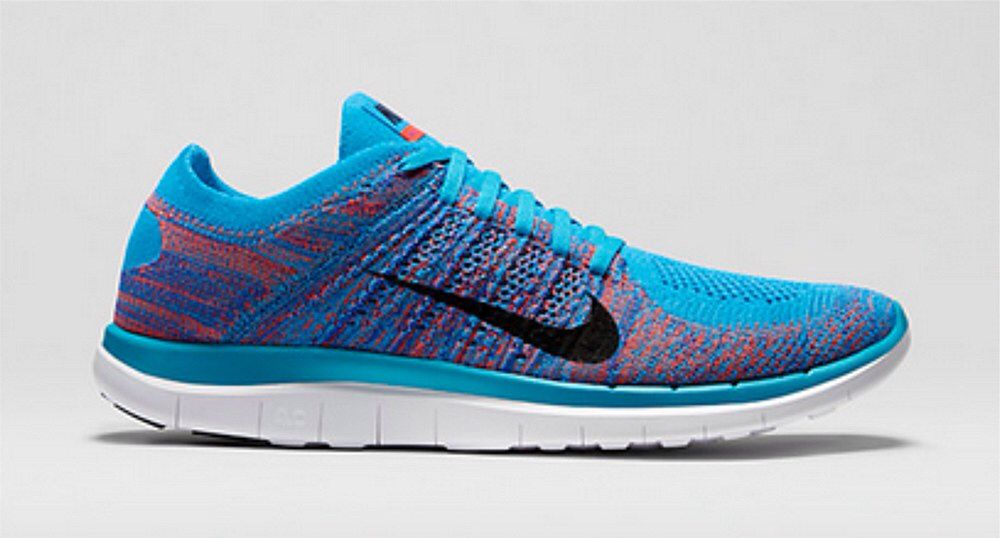 huge selection of 8633f a6ddd Nike free flyknit 4.0 blue lagoon