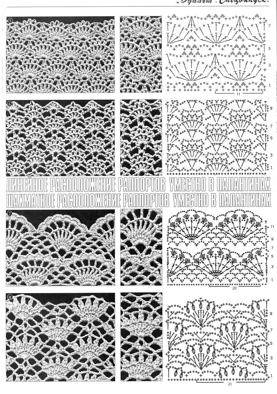Crochet stitches ✿⊱╮Teresa Restegui http://www.pinterest.com ...