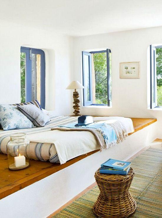 Simple Mediterranean Style Island Living on Tranquil Formentera http://beachblissliving.com/mediterranean-island-vacation-home/