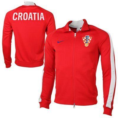 005749f5c Croatia Nike World Cup Soccer Track Jacket