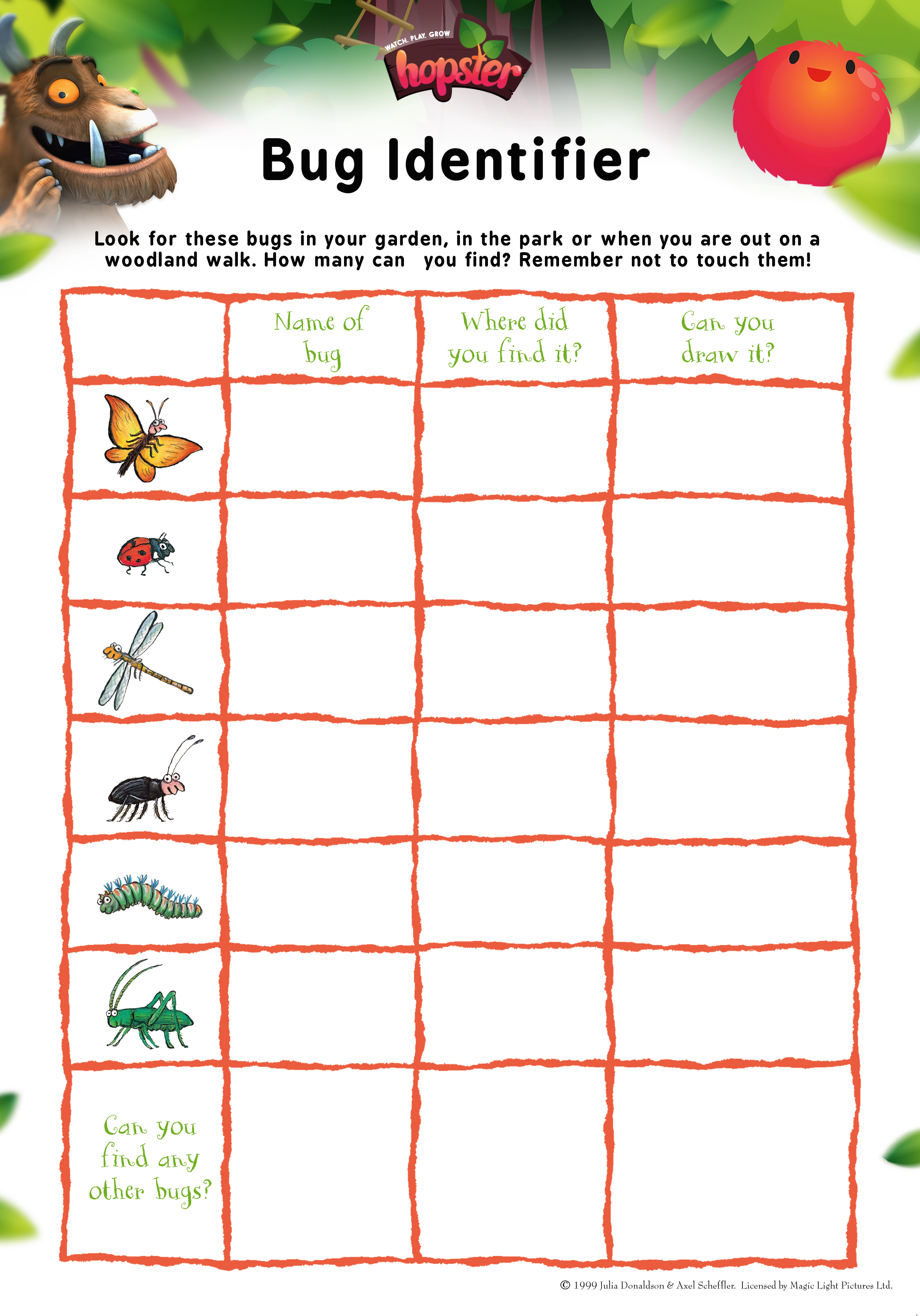 What S That Bug Identify The Creepy Crawlies In The