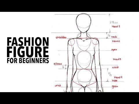 Tutorial Fashion Figure Step By Step Youtube Fashion