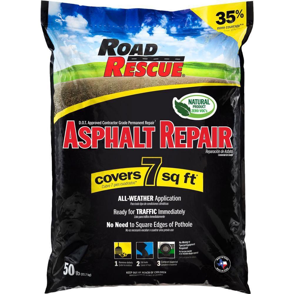 Road Rescue 50 lb. Asphalt Repair (10Pack) Asphalt