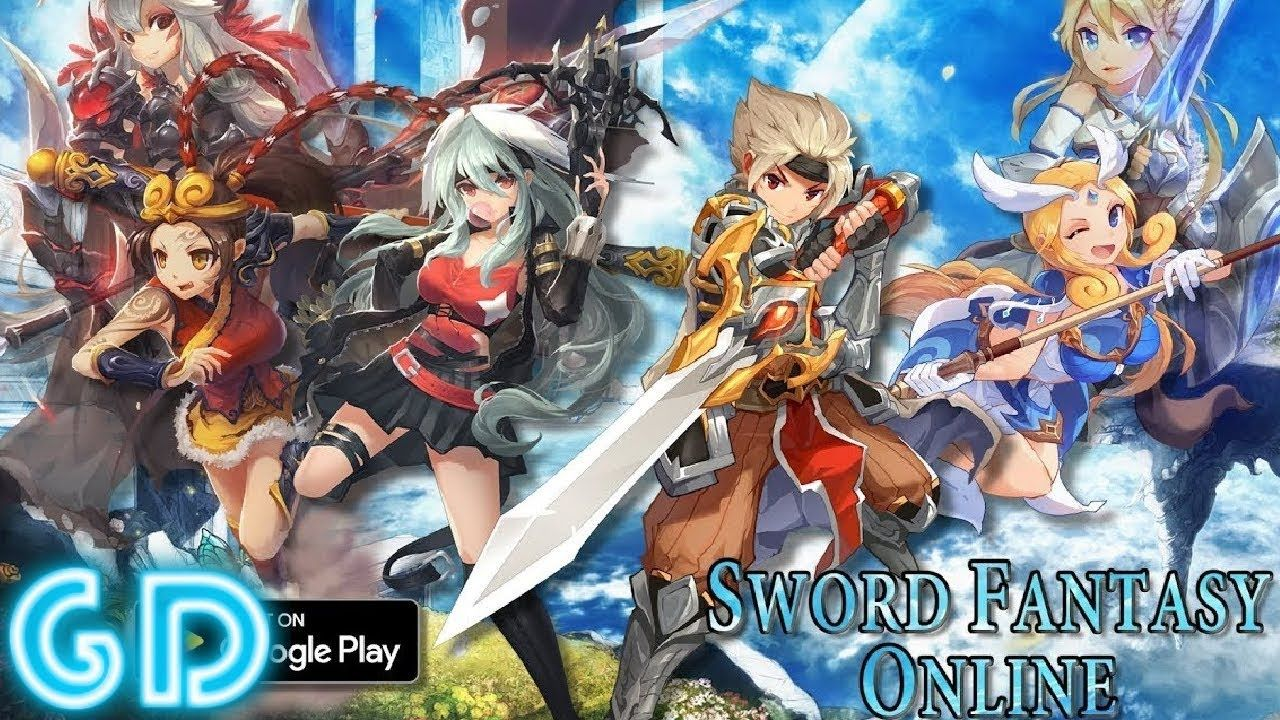 Sword Fantasy Online Anime MMORPG Gameplay Android & iOS